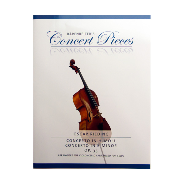 Rieding Concerto in B minor op. 35 voor cello
