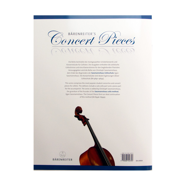 Oskar Rieding Concerto in B minor op. 35 voor cello