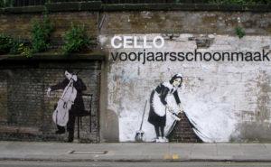hoe cello schoonmaken