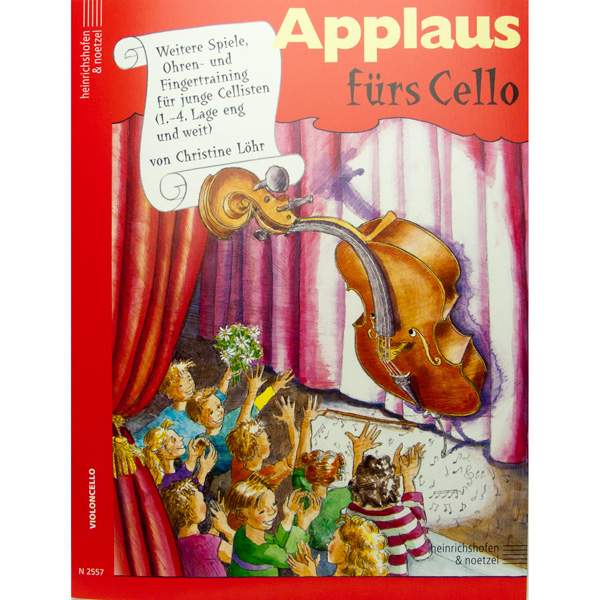 Applaus fürs Cello (Christine Löhr)