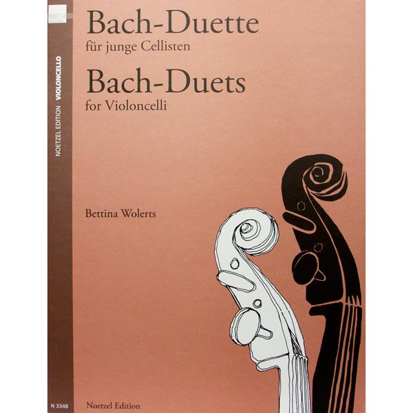 Bach Duette für junge Cellisten (Bettina Wolerts) Bach-Duets