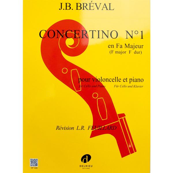 Concertino No. 1 F majeur Breval