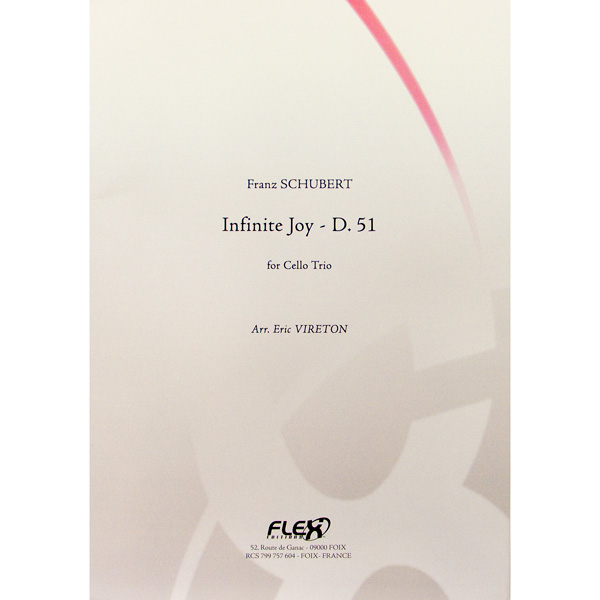 Franz Schubert Infinite Joy d.51 cello trio
