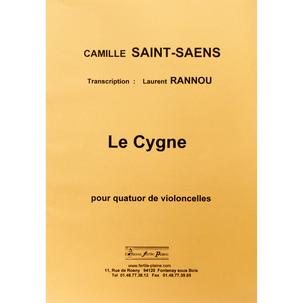 saint saens le cygne cello pdf