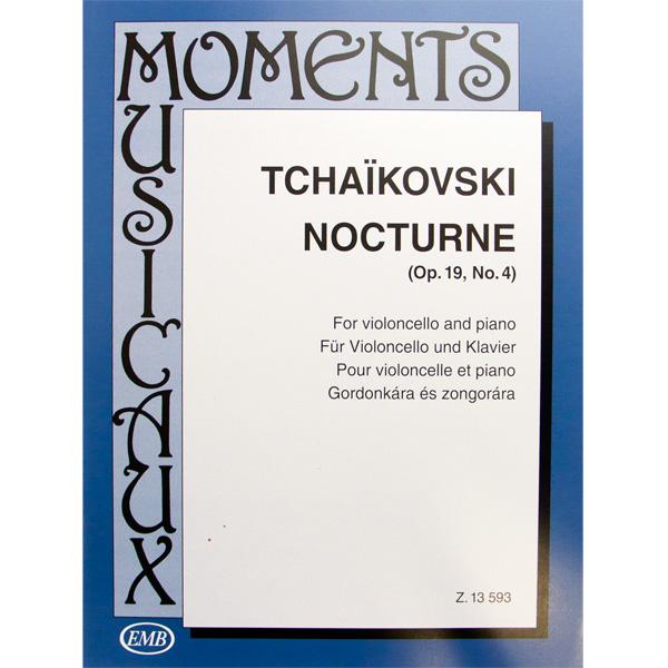 Tchaikovski Nocturne opus 19 no.4 TchaikovskiNocturne Opus 19 No.4 cello en piano
