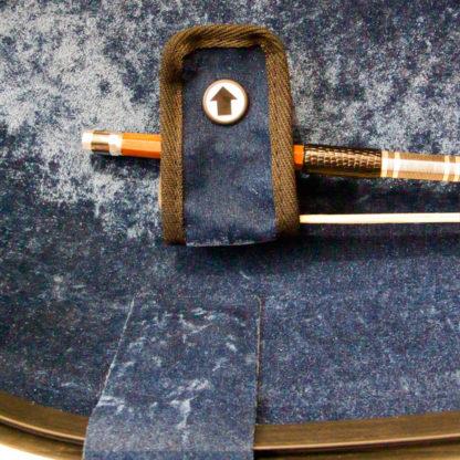 Cellokoffer GEWA Air wit strijkstok houder