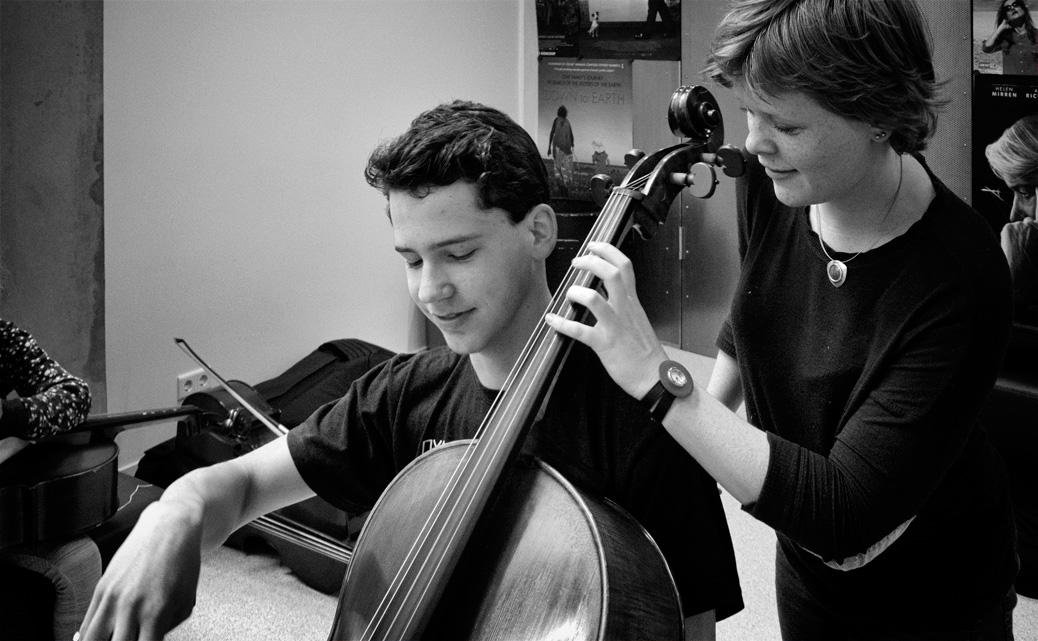 Afscheid celloles aan Muziekschool de Muzen in Veenendaal