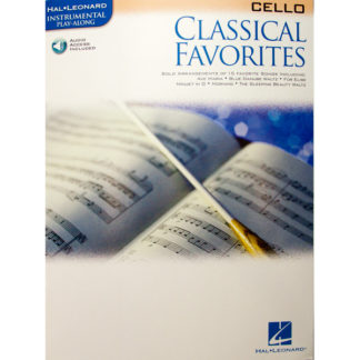 Classical Favorites for Cello (met mp3)