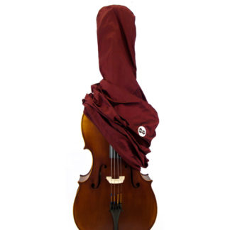 Cello pyjama zijde bordeaux rood
