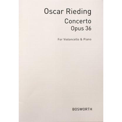 Oscar Rieding Concerto Opus 36 voor cello en piano