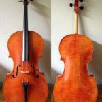 De cello is af