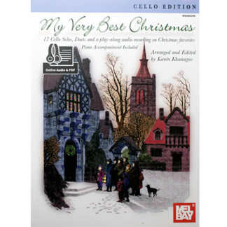 My Very Best Christmas 17 cello solos, duets and play-along met piano begeleiding