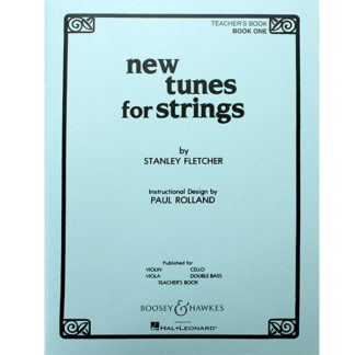 New tunes for Strings Teacher's Book One Stanley Fletcher