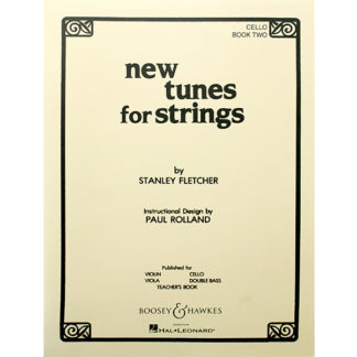 New tunes for Strings Cello Book two Stanley Fletcher