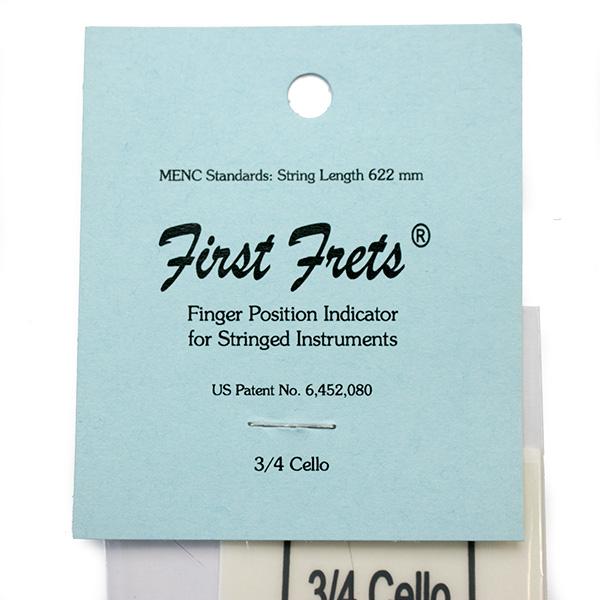 First Frets Cello vinger positie indicator