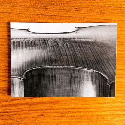 Ansichtkaart Cello Antik Achterblad