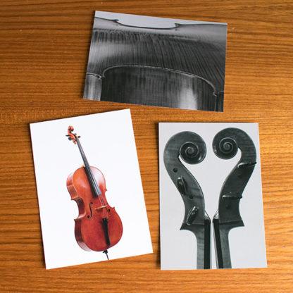 Ansichtkaarten Cello Set 1