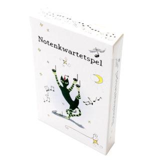 Notenkwartetspel spelenderwijs noten leren lezen