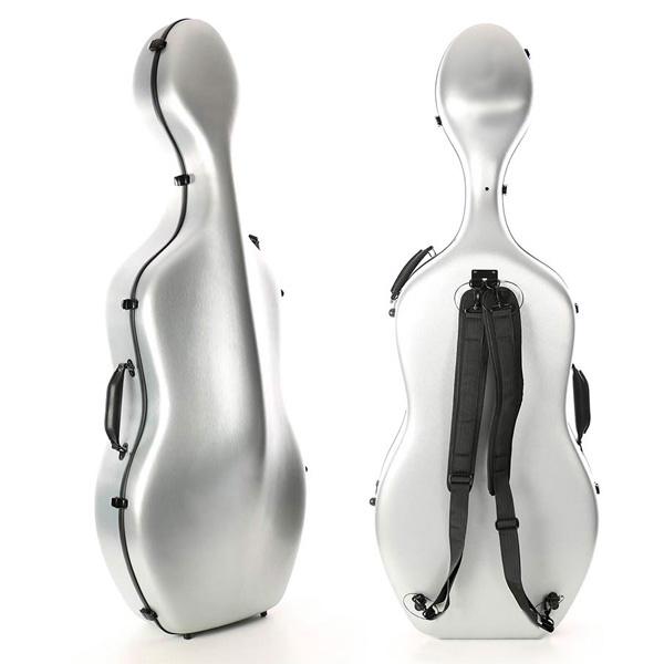 Cellokoffer Starter Zilver
