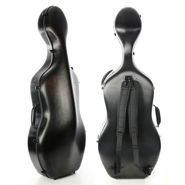 Cellokoffer Starter Zwart