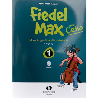 Fiedel Max goes Cello boek 1 met cd