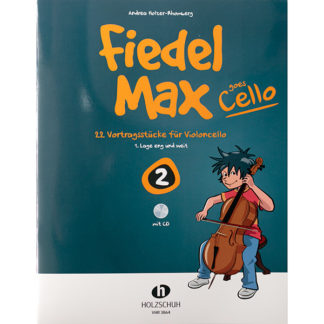 Fiedel Max goes Cello boek 2 met cd