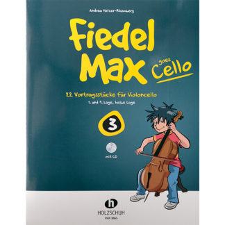 Fiedel Max goes Cello boek 3 met cd