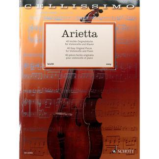 Arietta 40 makkelijke stukken voor cello en piano