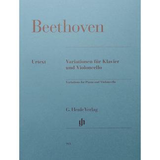 Beethoven Variationen für Klavier und Violoncello Verlag