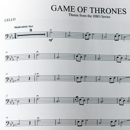 Game of Thrones Theme cello and piano