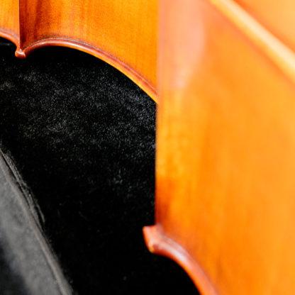 Cello hoes Eastman Zwart en leer