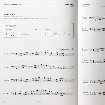 Cello Scales and Arpeggios Grades 1-5