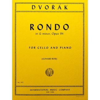 Dvorák Rondo g minor Op.94 cello and piano