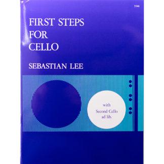 First Steps for Cello Sebastian Lee