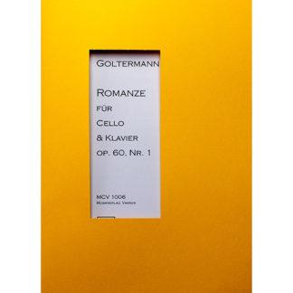Romanze für Cello und Klavier Op.60 Nr.1 Goltermann