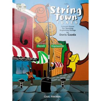 String Town tunes for cello Doris Gazda