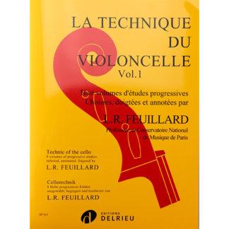 L.R. Feuillard La Technique du Violoncelle Volume 1