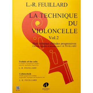 L.R. Feullard La Technique du Violoncelle Volume 2