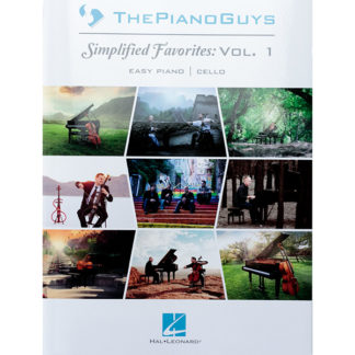 The Piano Guys Simplified Favorites Volume 1 Easy Piano and Cello