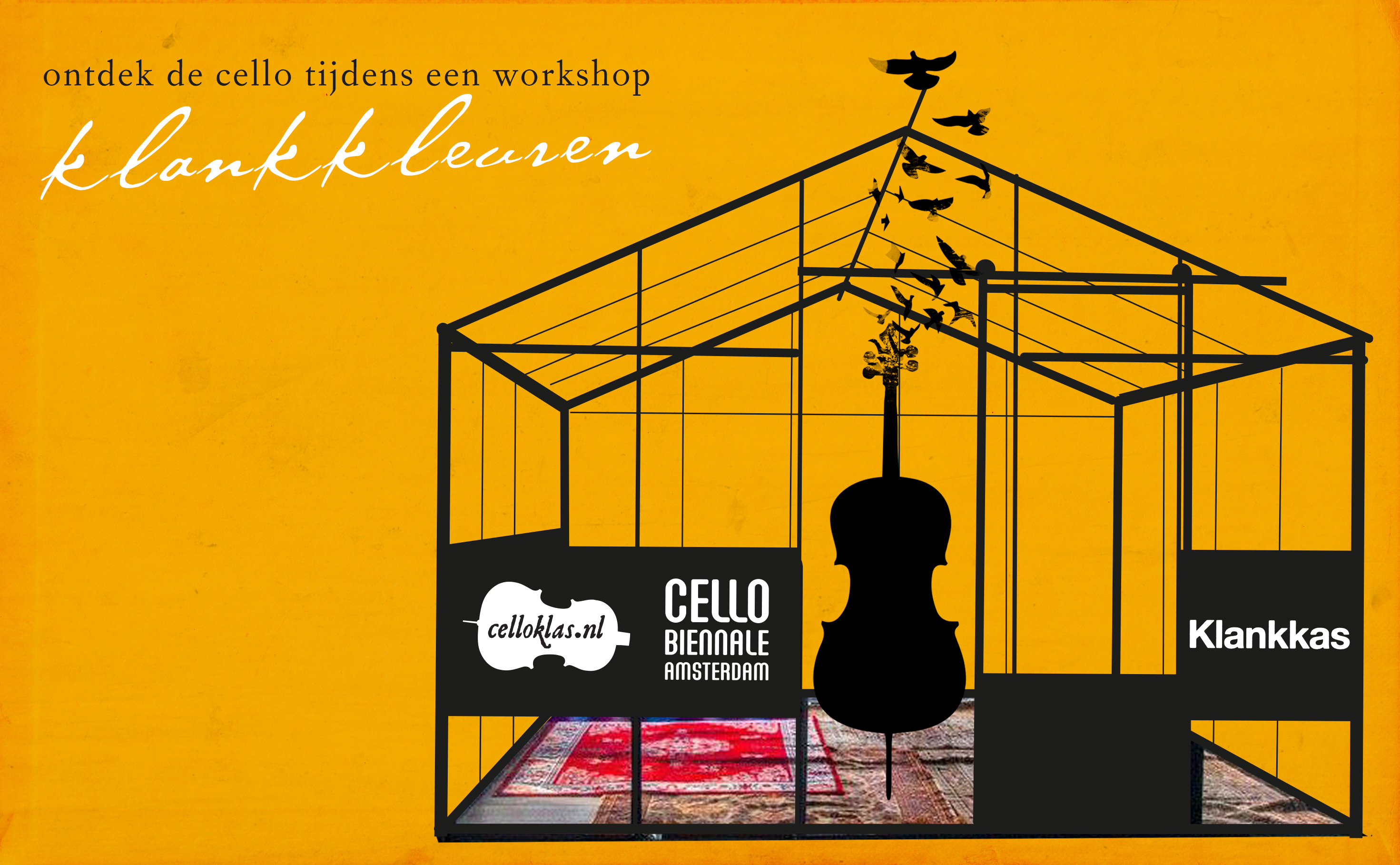 Workshop klankkleuren celloklas cello biënnale 2018 klankkas