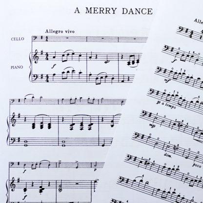 A Merry Dance for Cello and Piano - Adam Carse