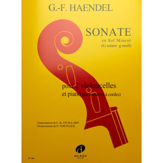G.F. Handel Sonate in g minor for two cellos and piano