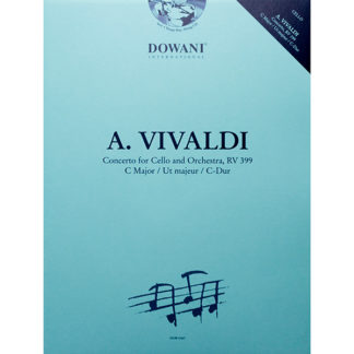 A. Vivaldi Concerto for Cello and Orchestra RV 399 C major