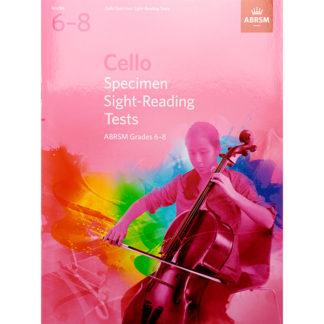Cello Specimen Sight Reading Tests grades 6-8