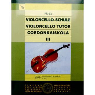 Friss Violoncello Schule III / 3