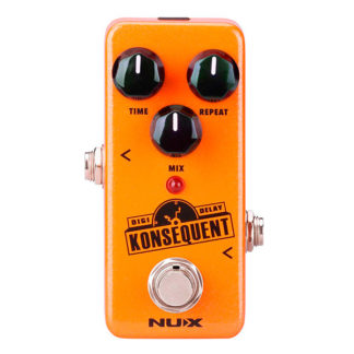 NUX Konsequent digital delay pedaal voor cello