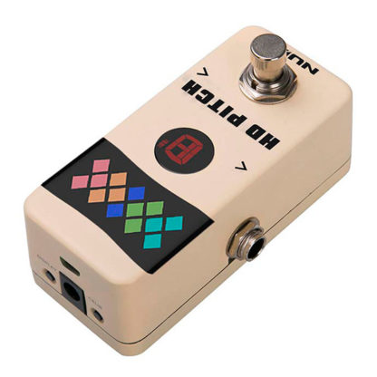 NUX hd pitch tuner pedal mini core