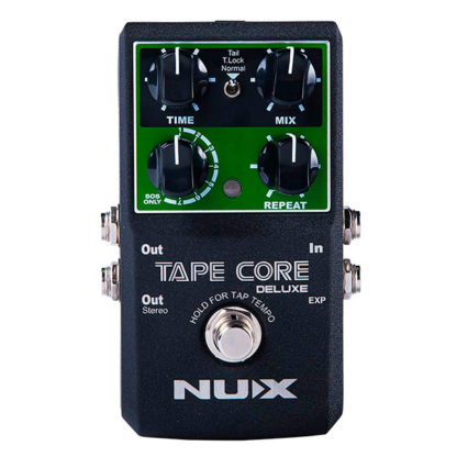 NUX Tape Core Deluxe delay pedaal cello