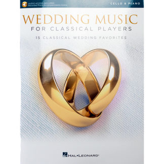 Wedding Music for Classical Players Cello piano