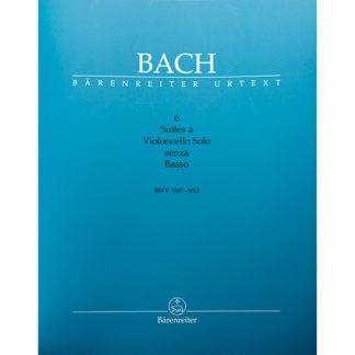 Bach Bärenreiter Urtext 6 Suites voor Cello solo